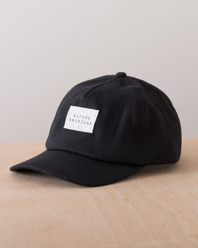 Logo Tag Baseball Cap - Black