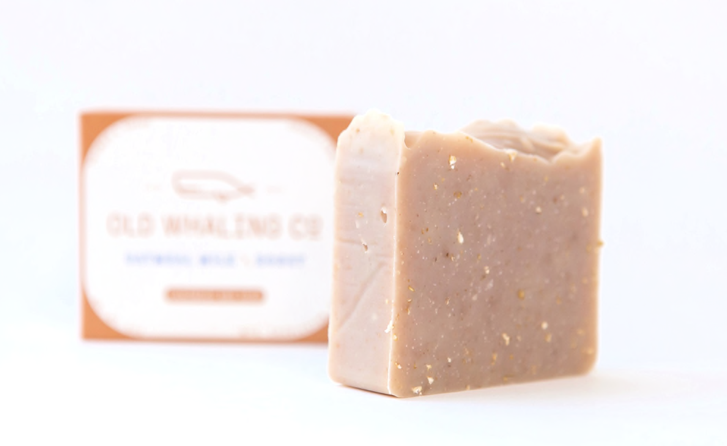Old Whaling Co. Bar Soap - Oatmeal Milk + Honey