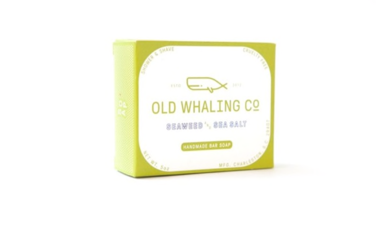 Old Whaling Co. Bar Soap - Seaweed + Sea Salt