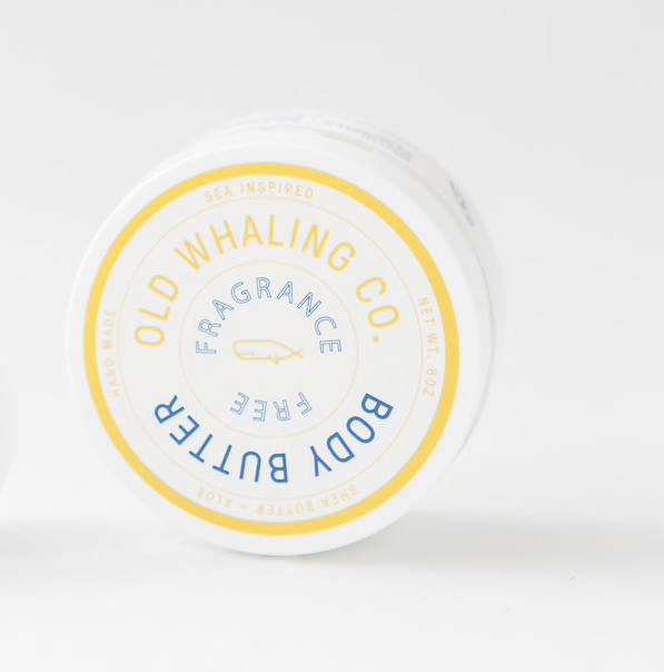 Old Whaling Co. Body Butter - Fragrance Free