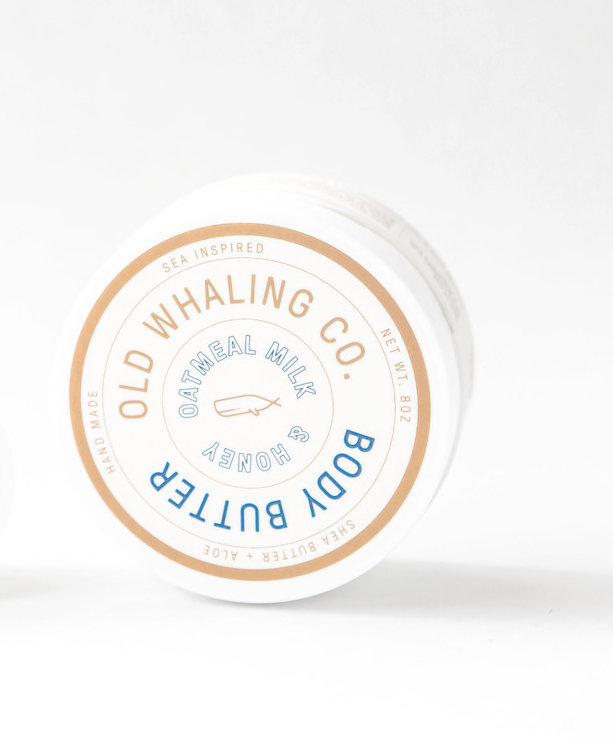 Old Whaling Co. Body Butter - Oatmeal Milk + Honey