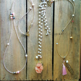 necklaces by Marinella jewelry 3 different designs custom made ready to wear