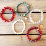 Bali inspired collection of bracelets to celebrate July