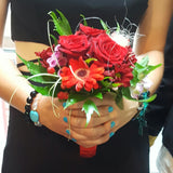 Prom bouquet protection beaded bracelets