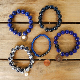 sapphire collection of quality stretch bracelets