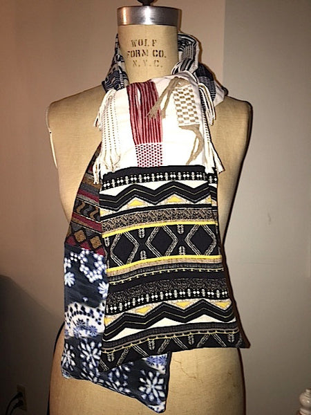 Tribal Shredded Scarf