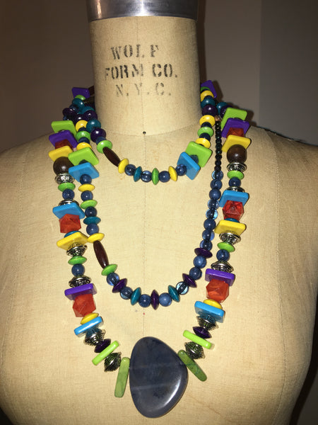 Multi-Squared Colorful Necklace