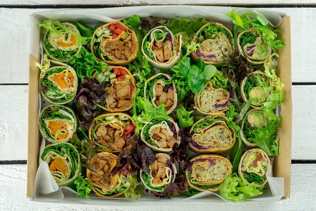 Mixed Wrap Selection Platter