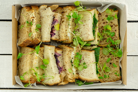 Vegetarian Doorstep Sandwich Platter - Salad Days Delivery