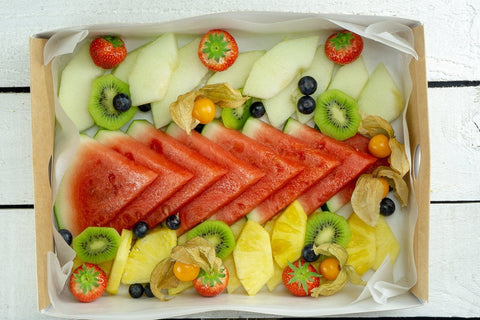 Seasonal Sliced Fruit Platter - Salad Days Delivery