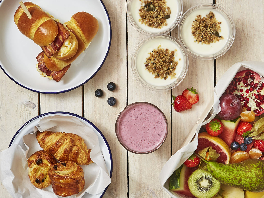 Luxe Breakfast Set Menu (Priced Per Person) | Salad Days Online