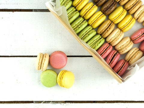 Luxury Macaroon Selection Platter | Salad Days Online