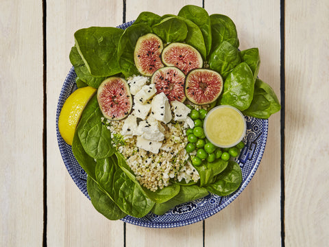 Goats Cheese & Fresh Fig Quinoa Box | Salad Days Online
