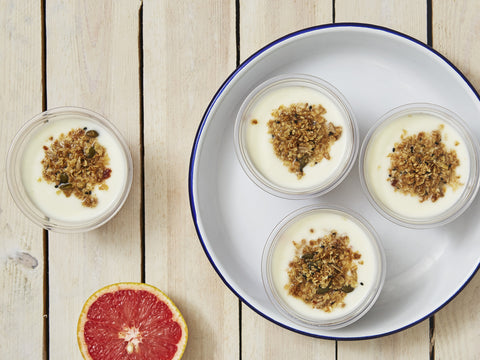 Yoghurt Pots for 50+ people - Salad Days Delivery