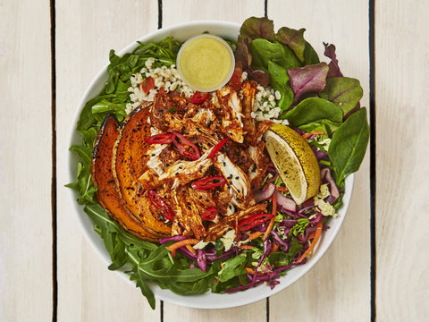 Peri Peri Chicken Salad Box - Salad Days Delivery  - 1