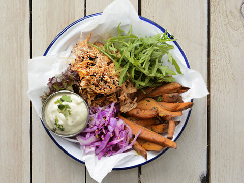 Pulled Chicken & Sweet Potato Hot Box *NEW*