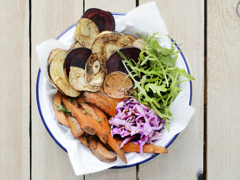 Roasted Root Vegetables & Sweet Potato Hot Box *NEW*