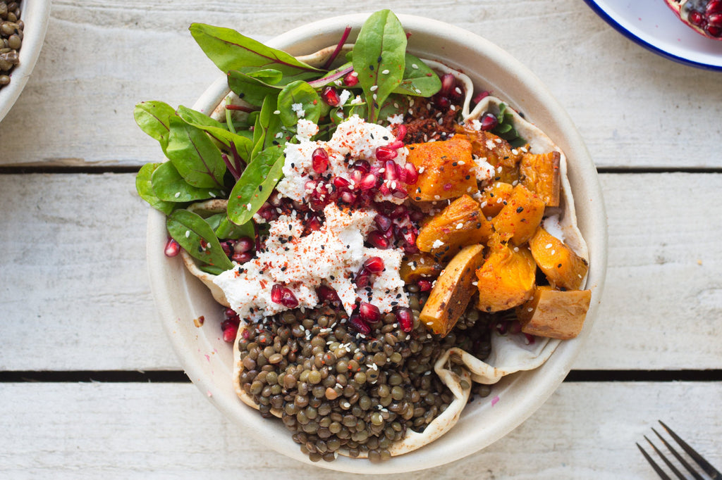 Ricotta & Lentil Salad Box - Salad Days Delivery