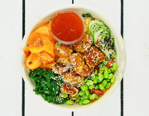 Teriyaki Chicken Rice Bowl | Salad Days Online