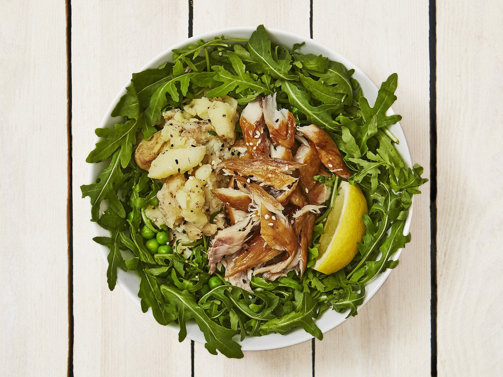 Smoked Mackerel Salad Box - Salad Days Delivery