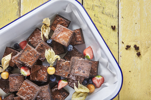 Handmade Brownie - Salad Days Delivery