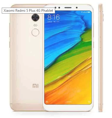 Xiaomi Redmi 5 Plus (3 Gb / 32 Gb) 4G Phablet  -  GOLDEN