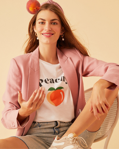 LILA Fashion | Peachy Tee