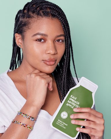 LILA Fashion | Green Reset | Raw Juice Mask