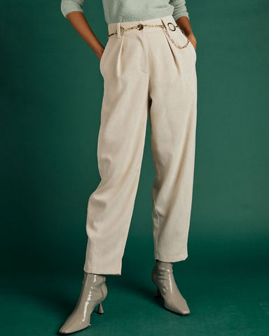 LILA Fashion | Corduroy Trouser | Stone