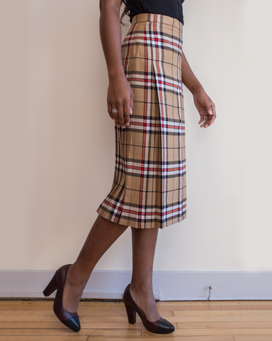 LILA Fashion | Thomson Camel Kilt
