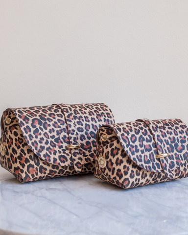 LILA Fashion | 'My Passport' Barrel Bag | Leopard