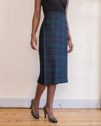 LILA Fashion | Black Watch Kilt