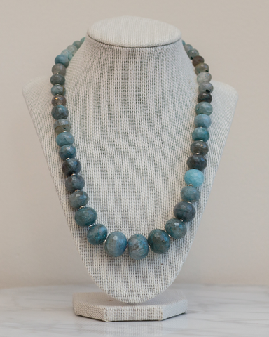 LILA Fashion | SS16 | Teal Necklace