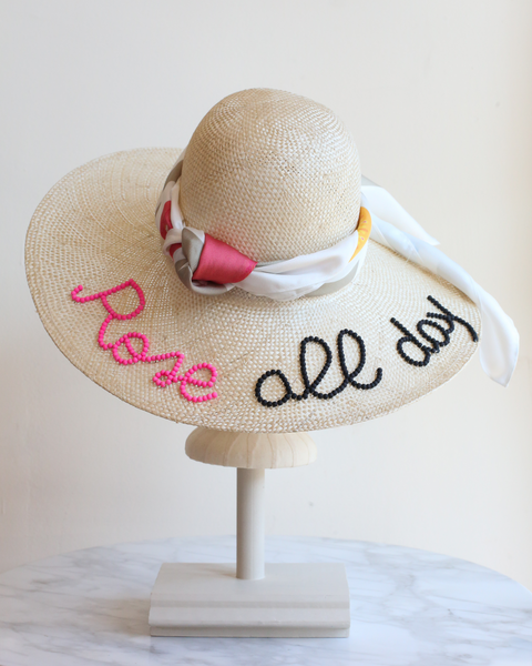 Rosé All Day | Sun Hat