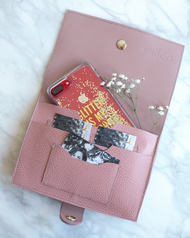 LILA Fashion | Iole Wallet | Blush