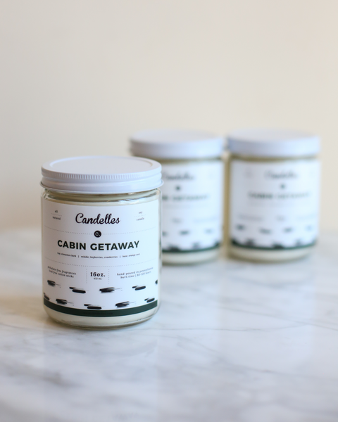 Cabin Getaway Candle