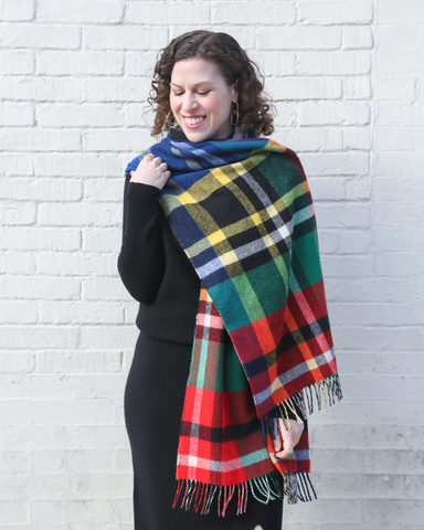 LILA Fashion | Multicolor Tartan Scarf