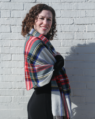 LILA Fashion | Dress Stewart Tartan Scarf