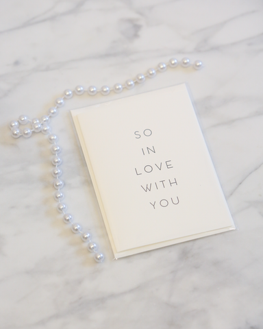 LILA Fashion | So In Love With You | Card