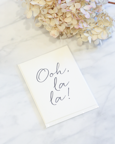 LILA Fashion | Ooh La La | Card