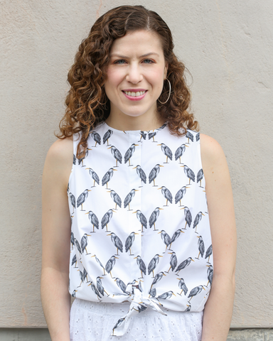 LILA Fashion | Heron Shirt | Sleeveless