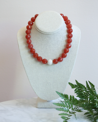 LILA Fashion | Carnelian Necklace