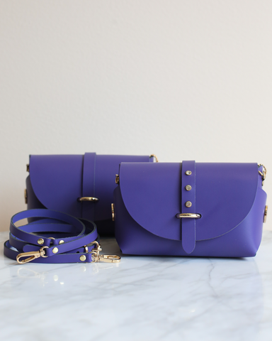 LILA Fashion | 'My Passport' Barrel Bag | Violet
