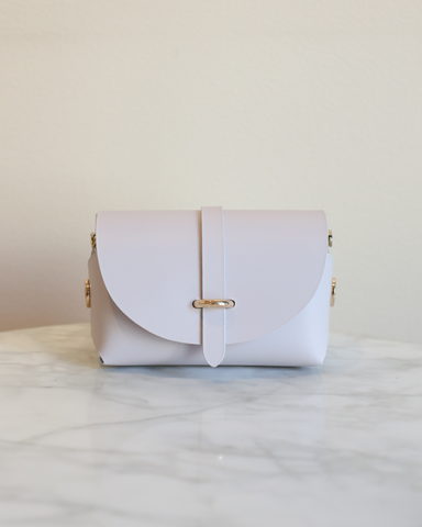LILA Fashion | 'My Passport' Barrel Bag | Lilac Pink