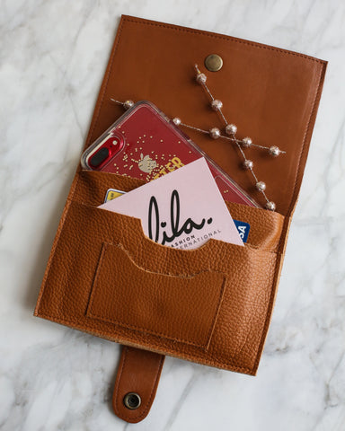 LILA Fashion | Iole Wallet | Brown