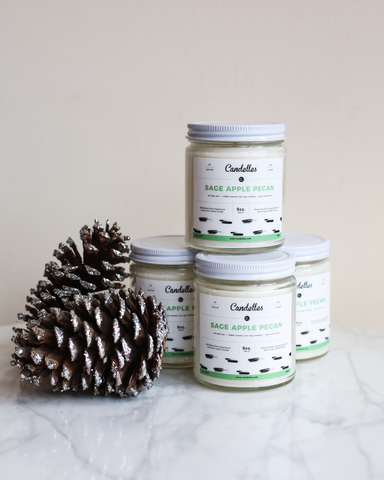 LILA Fashion | Sage Apple Pecan 9oz Candle