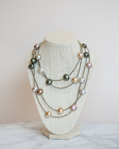 LILA Fashion | Shell Pearl Necklace