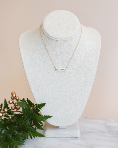 LILA Fashion | Bar Necklace