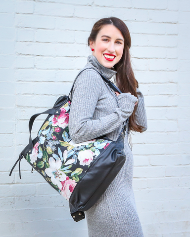 LILA Fashion | Minos Backpack | Floral