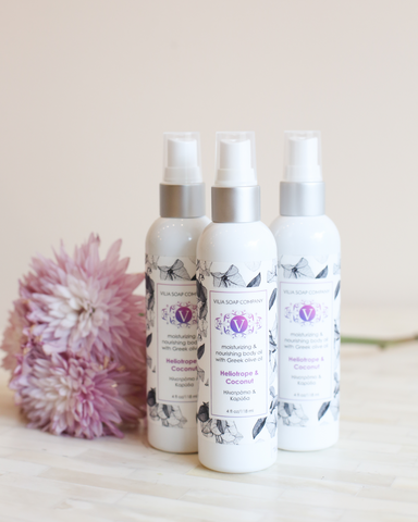 LILA Fashion | Body Oil | Heliotrope & Coconut